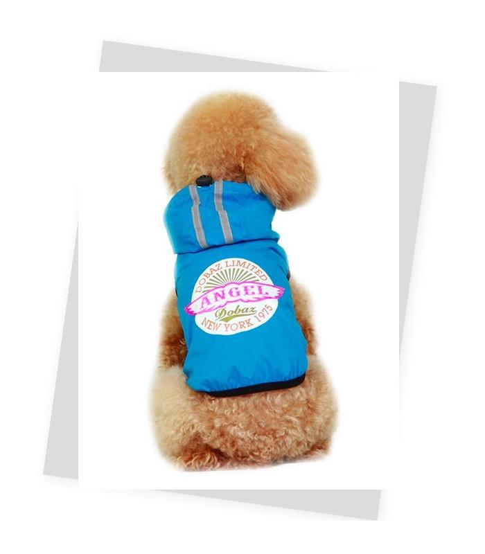 DOBAZ cienka kurtka dla psa NIEBIESKA