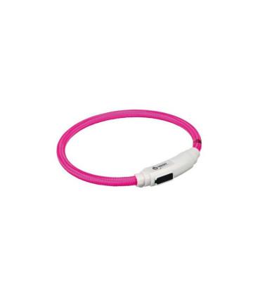 Świecąca obroża USB