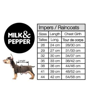 MILK&PEPPER lekka kurtka przeciwdeszczowa