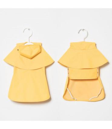 SNIFF Żółty przeciwdeszczowy płaszczyk.