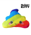 QUIRKY KITTY Zabawka dla kota RAINBOW POOP