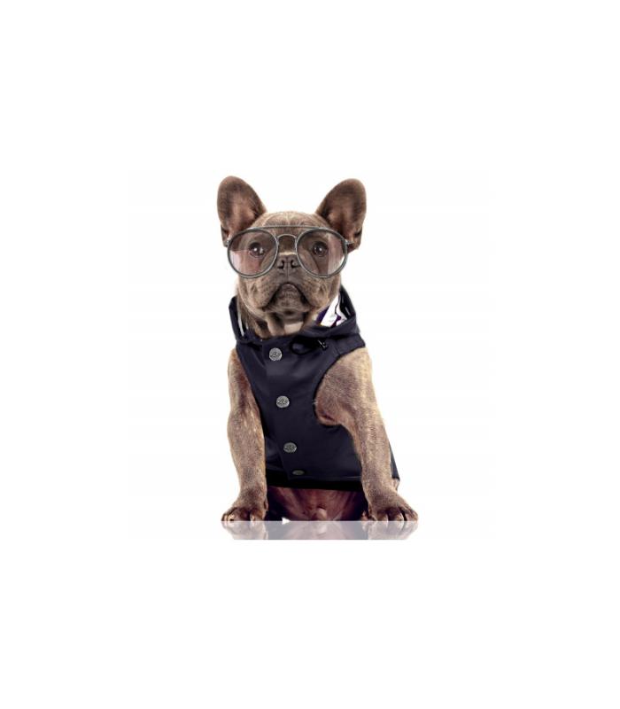 MILK AND PEPPER Płaszcz przeciwdeszczowy dla psa BABORD NAVY